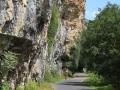 Straße-Fels